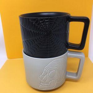 STARBUCKS 2019 Halloween ceramic Mugs. Set of 2